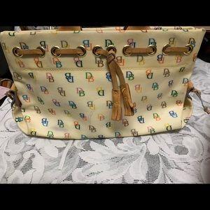Authentic Dooney & Bourne colorful signature bag.